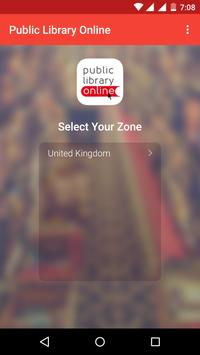 Public Library Online App poster