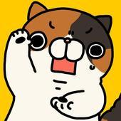 Surprised cat icon