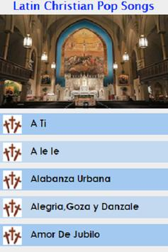 Latin Christian Pop Songs poster