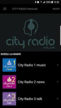 CITY RADIO Network poster