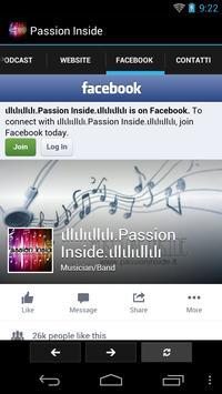 Passion Inside screenshot 1