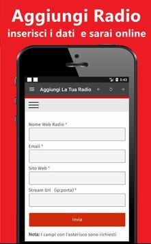 Web Radio Italiane apk screenshot