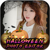 Ghost Photo Maker Halloween icon