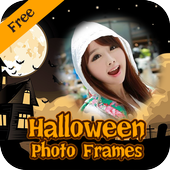 Halloween frames & Halloween Photo Editor icon
