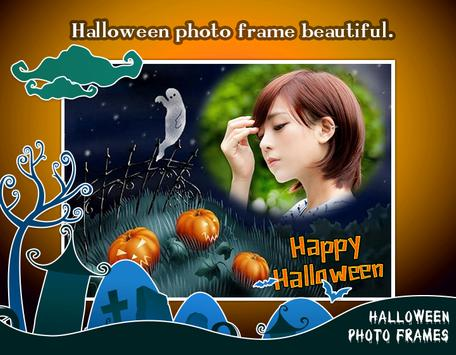 Halloween frames & Halloween Photo Editor poster