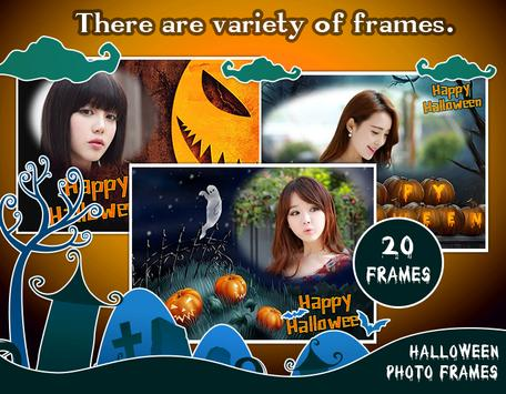 Halloween frames & Halloween Photo Editor apk screenshot