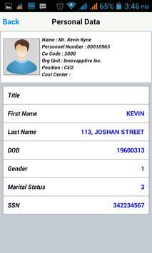 Mobile Employee apk screenshot