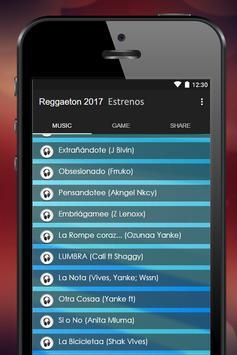 Reggaeton 2017 Estrenos apk screenshot