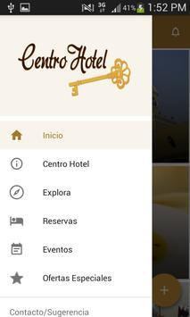 Conserjeria App Centro Hotel poster