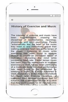 Fitness Music screenshot 2