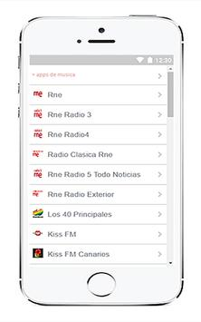 Radio FM España gratis screenshot 2