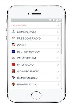 Radio Gambia free screenshot 2