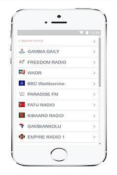 Radio Gambia free screenshot 4