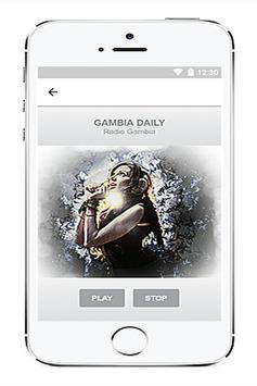 Radio Gambia free screenshot 5