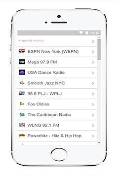 Radio Station Usa screenshot 2