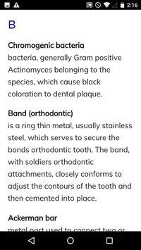 Dental Dictionary apk screenshot