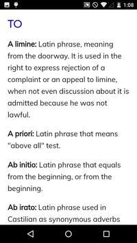 Law Dictionary screenshot 1