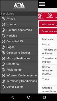App UAM apk screenshot