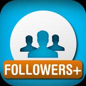 Followers+ ícone
