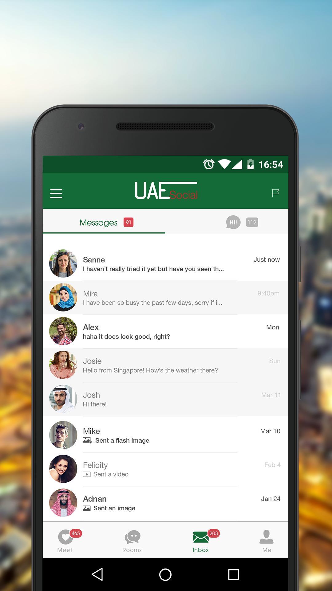 Dating online-UAE
