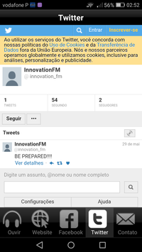 Innovation FM screenshot 4