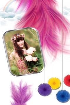 Feather Photo Frames poster