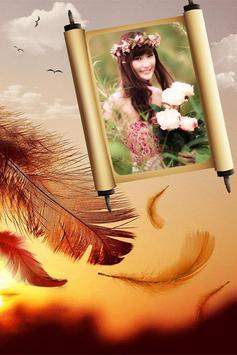 Feather Photo Frames apk screenshot