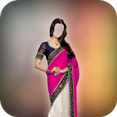 Indian Marriage Saree Suit icon