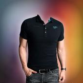 Man T shirts Photo Suit icon