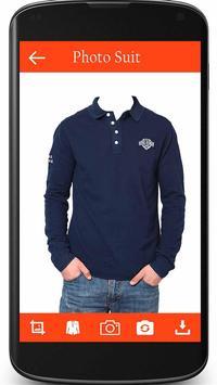 Man T shirts Photo Suit apk screenshot