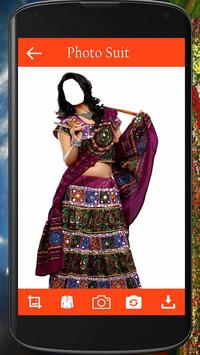 Navratri Dress Photo Suit screenshot 4