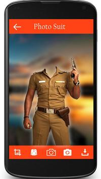 Police Photo Suit poster
