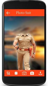 Police Photo Suit screenshot 2