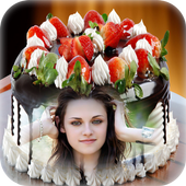 Photo on Birthday Cake Frame icon