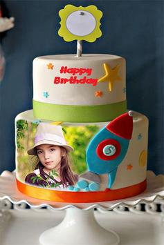 Photo on Birthday Cake Frame screenshot 3