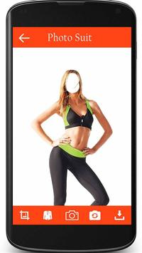 Woman Fitness Photo Suit poster