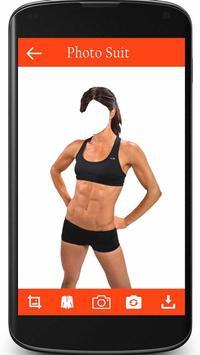 Woman Fitness Photo Suit screenshot 2