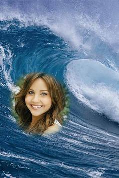 Water Wave Photo Frames poster
