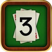 3 Card icon