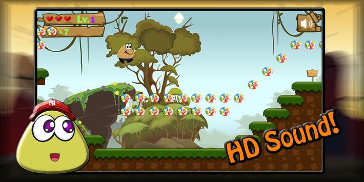 Green Pit Pou 2 💩💩 apk screenshot