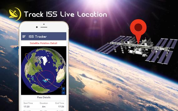 ISS Satellite Detector-Live HD Space View poster