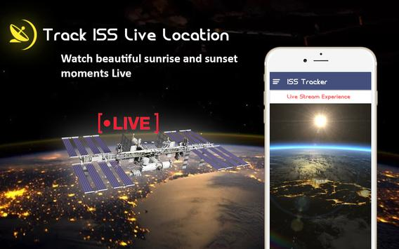 ISS Satellite Detector-Live HD Space View screenshot 1