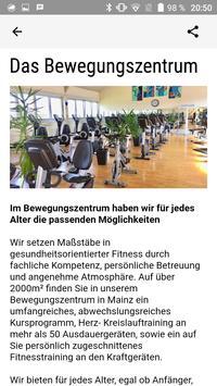Bewegungszentrum Mainz screenshot 2