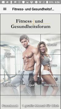 Fitness- und Gesundheitsforum poster