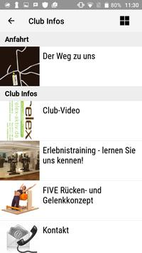 relex Fitnessclub screenshot 1