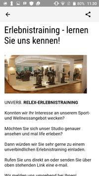 relex Fitnessclub screenshot 2