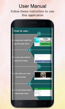 Easy Video Downloader 2017 apk screenshot