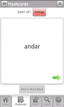 Free Portuguese WordPower apk screenshot
