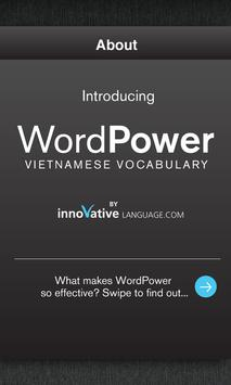 Free Vietnamese WordPower poster