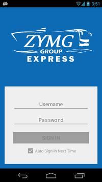 Zayar Myaing Gyi Express poster